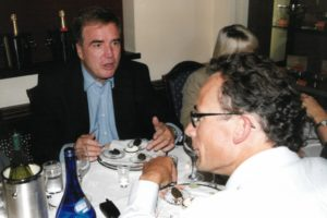 Joost Captijn (links) en Eric de Clercq Zubli (rechts)
