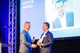 Eerste VGM NL award naar René Brinkhuijsen