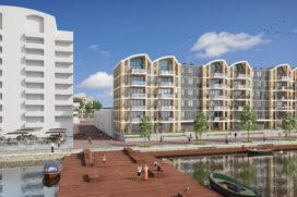 Green start bouw multifunctioneel gebouw