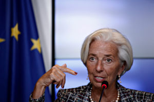 ECB laat rente ongemoeid bij vuurdoop Lagarde