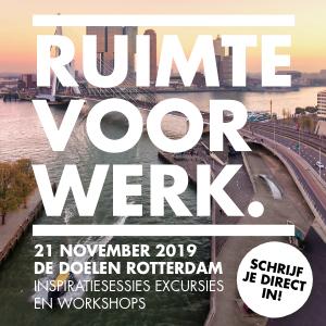 Transformatiecongres Rotterdam 2019. Incl. paneldiscussie met Nanne de Ru