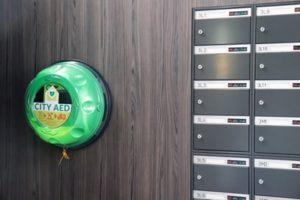 AED in ieder complex van Bouwinvest
