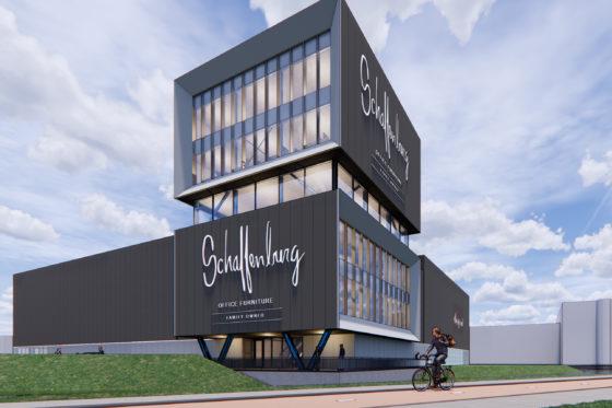 Heembouw realiseert bedrijfspand Schaffenburg