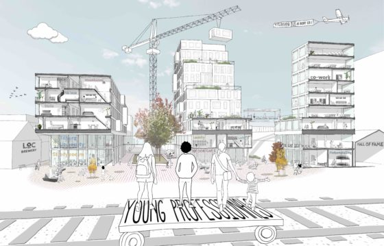 Circa 400 woningen op nieuwe Tilburgse campus