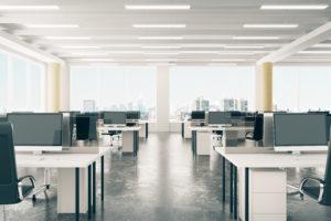 Colliers: bedrijven huren 2,5 miljoen m2 teveel kantoor