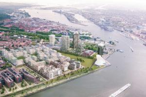 Italiaanse aannemer hervat bouw Y-Towers in januari